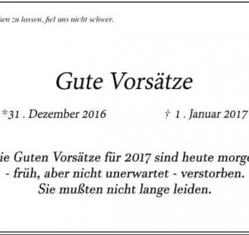 2017 - Wir starten durch